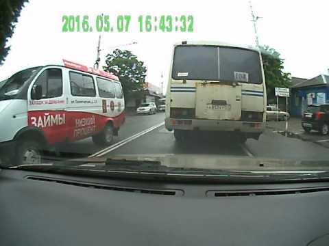 Дикий адыгейский автобус