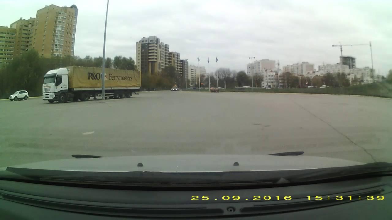 Бешенный автобус и мазда (с)