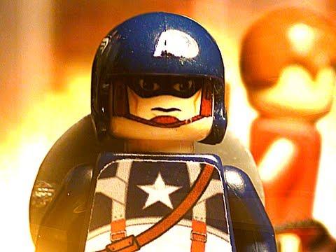 Лего герои и их битва