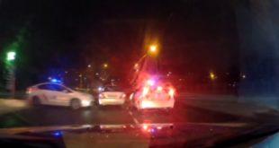 Полицейская погоня в Черкассах