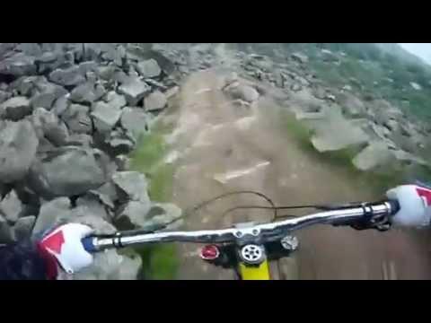 Экстремальные трюки на велосипеде