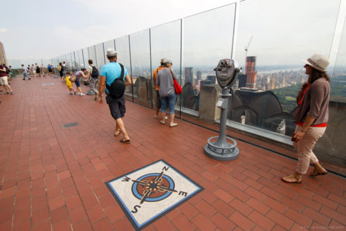 Смотровая площадка на крыше Эмпайр Стейт Билдинг