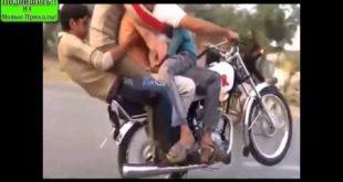 Джаз банд на одном мотоцикле