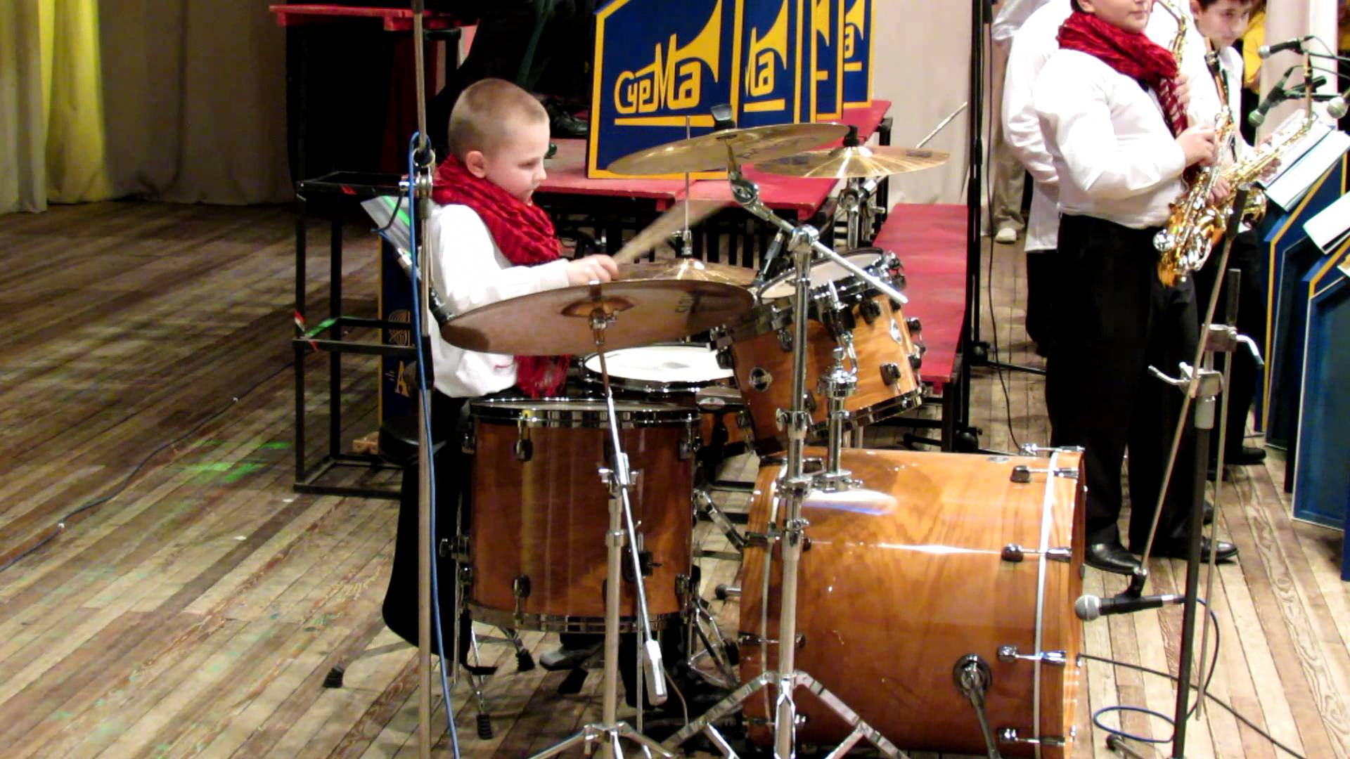 Соло барабаны