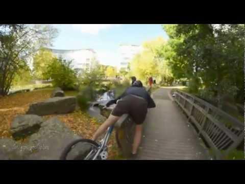 Езда по ограждению опасна для разных частей тела
