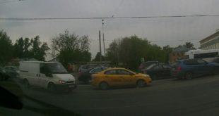 Авария в Москве, 1 Крутицкий переулок, 31.05.2017