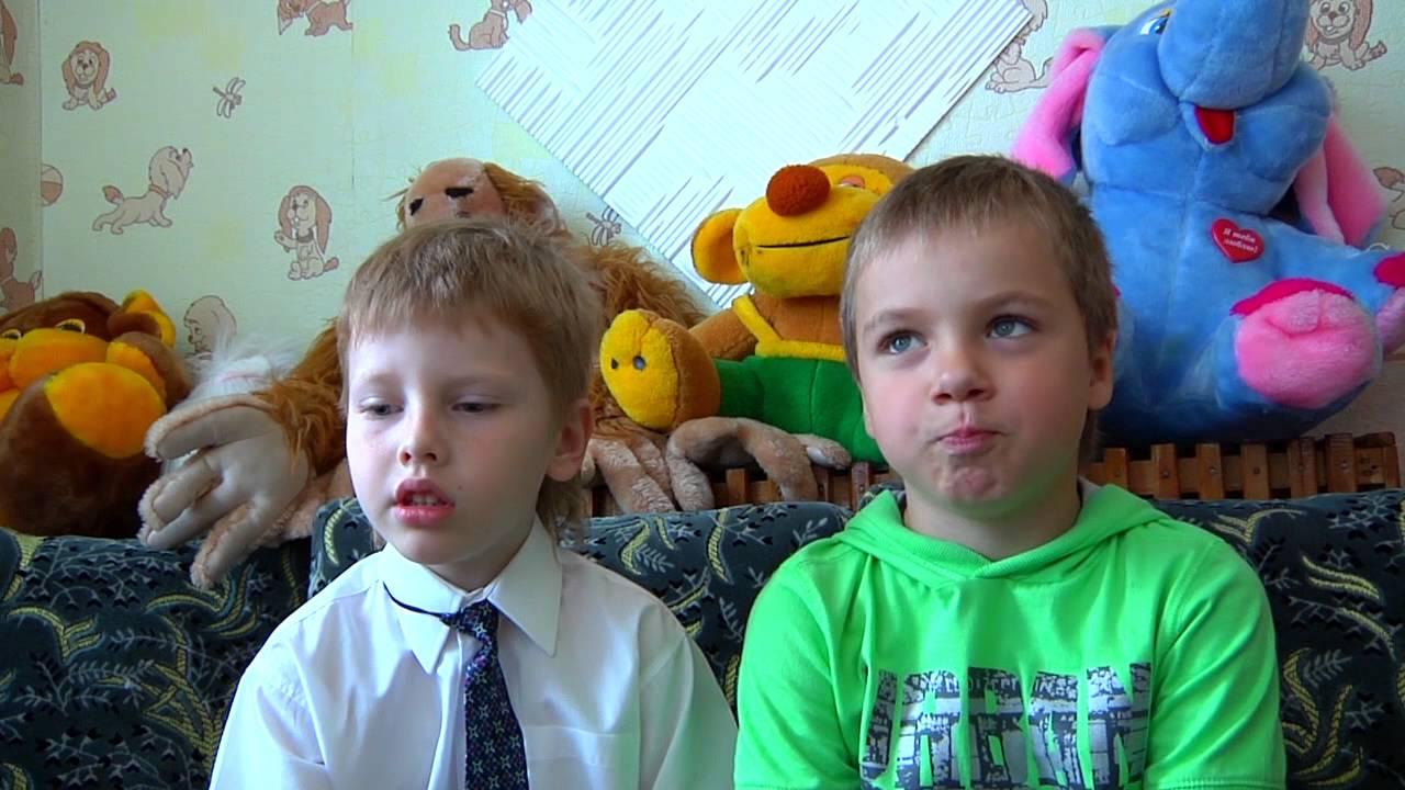 дети и их небольшие интервью