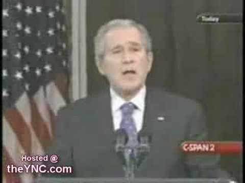 Долгое раздумывание Буша над речью