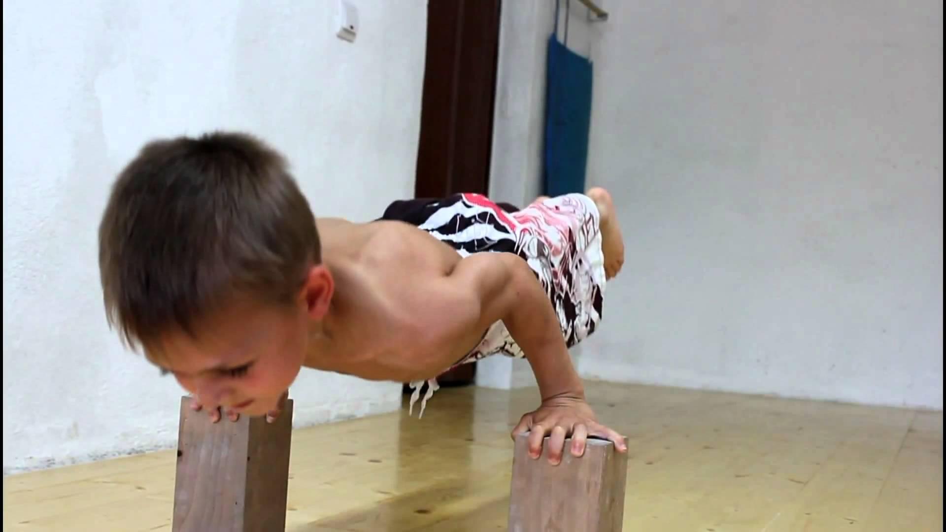 Пятилетний спортсмен