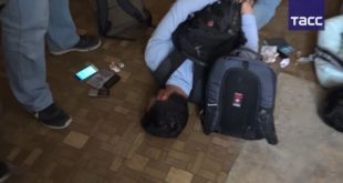 Видео задержания террористов, готовивших взрывы в Москве