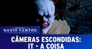Бразильские телевизионщики напугали случайных прохожих клоуном из фильма «Оно»