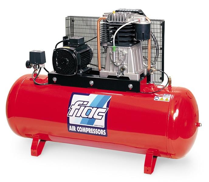 Поршневые воздушные компрессоры компании Fiac