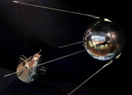 Стыковка первого искусственного спутника Земли