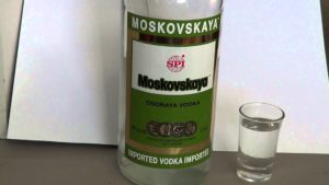 Водка Московская