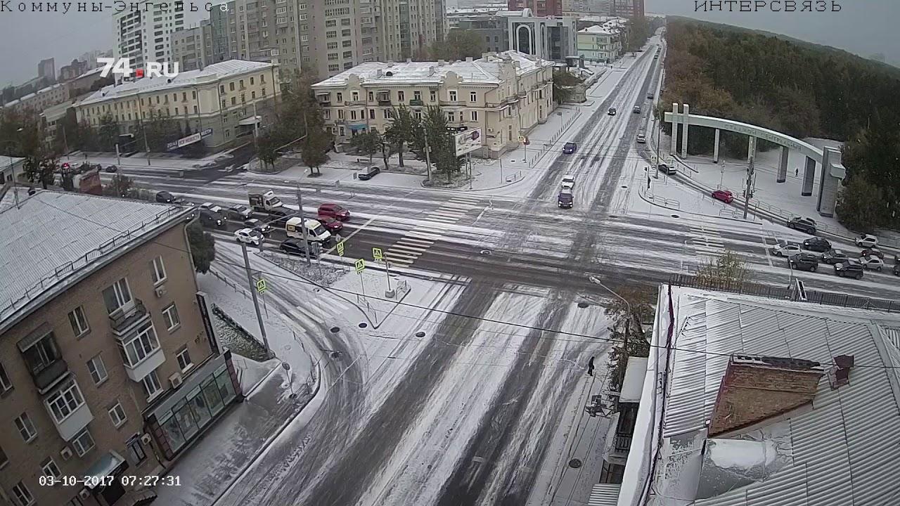 Новое включение из снежного Челябинска
