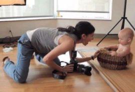 Правила фотографирования ребенка