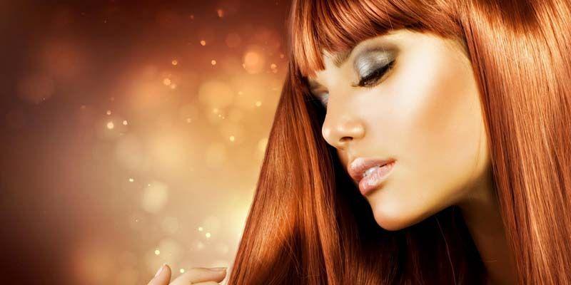 Женские здоровые волосы