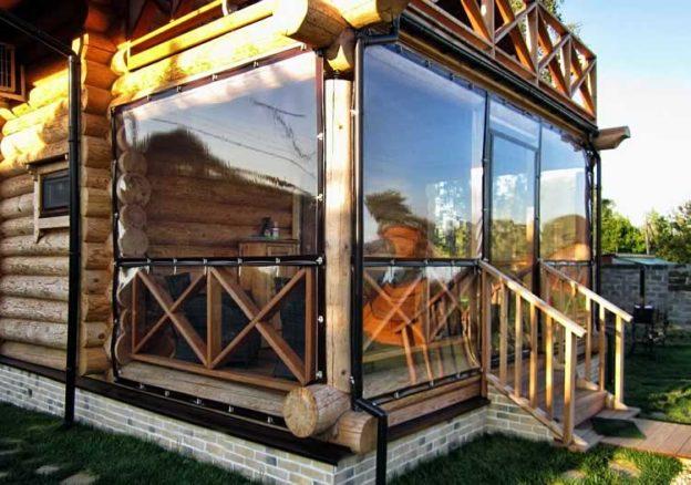 Зачем нужны прозрачные мягкие окна?