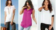 Модные женские летние блузки: материалы и фасоны