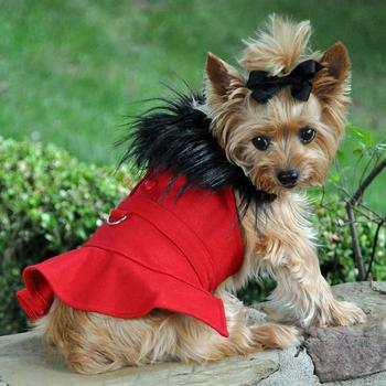 wool-fur-trimmed-dog-harness-coat-red-7660