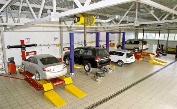 Автомобильные станции технического обслуживания