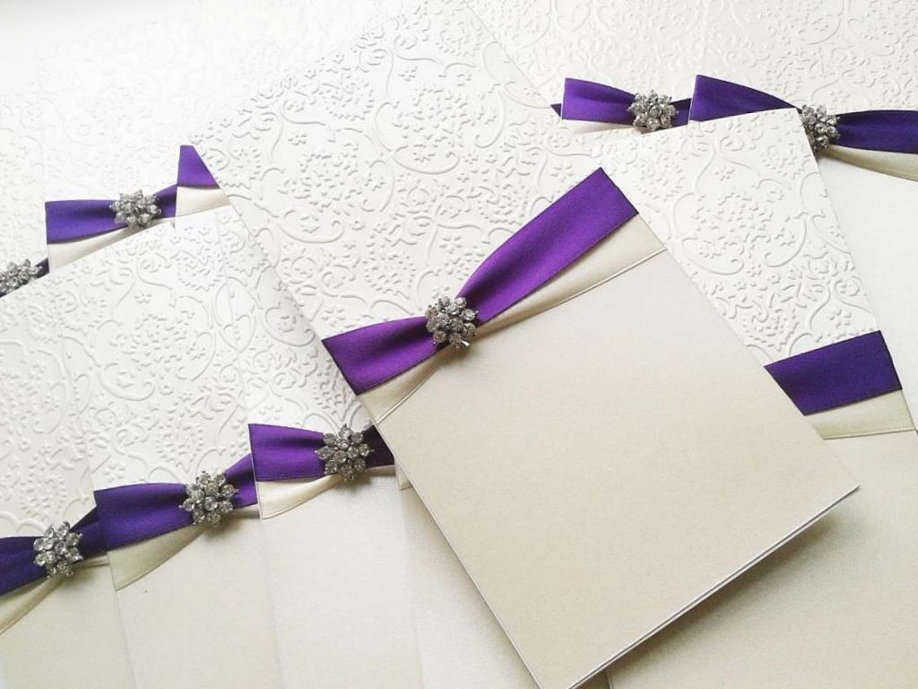 Как сделать оригинальные свадебные приглашения