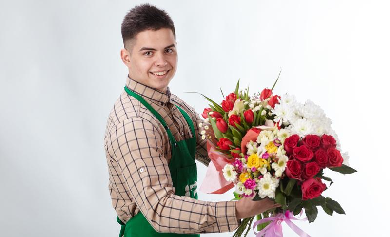 Доставка цветов для сестры