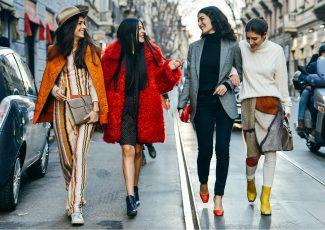 Посмотрите последние модные комбинации одежды
