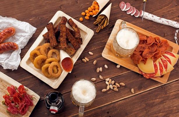 Популярные закуски к пиву