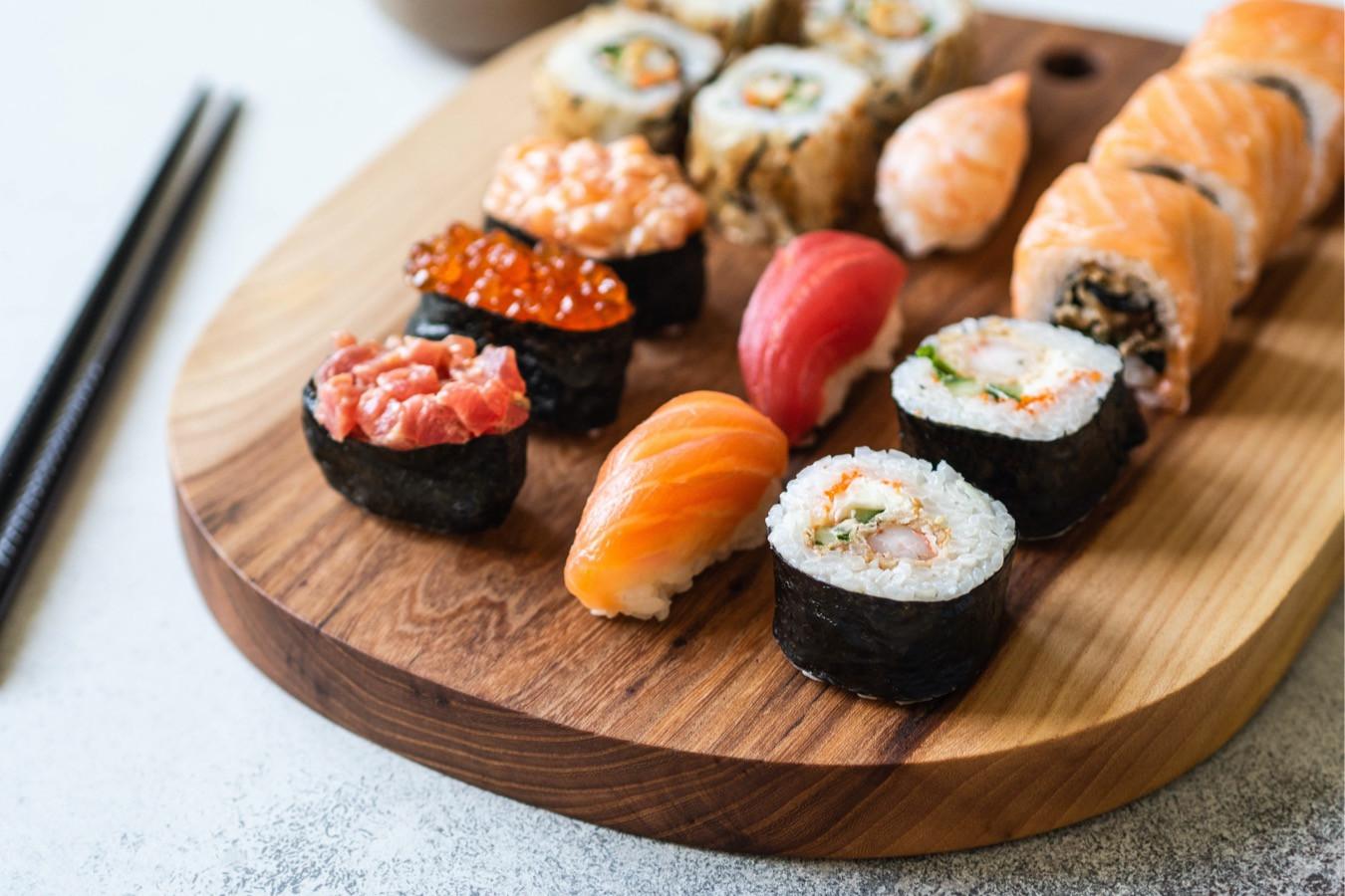 Японская кухня. Сашими